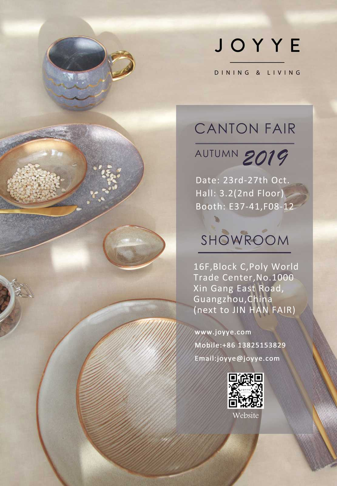 Joyye 2019 Autumn Canton Fair Invitation