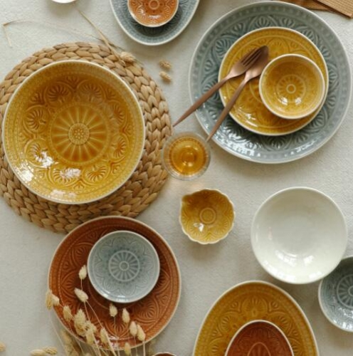 Indian Style Tableware